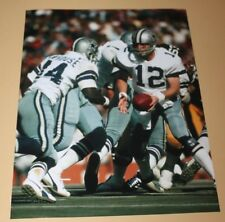 Super Bowl X Roger Staubach Robert Newhouse Dallas Cowboys unsigned 8x10 photo