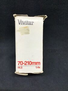 Vivitar 70-210mm F4.5 Macro/makro 1:4x For Minolta
