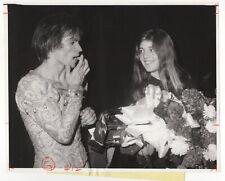 Caroline Kennedy with Rudolph Nureyev - Vintage 8x10 Wire Service Photograph