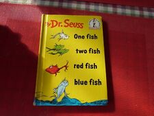 ONE FISH TWO FISH RED FISH BLUE FISH DR SEUSS - HARD COVER
