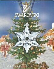 Promo 2000 Swarovski Crystal Christmas ornament - Flyer - Broschure