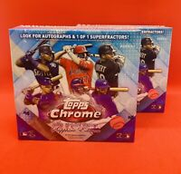 2020 Topps Chrome Sapphire Update Edition Sealed Hobby Box in hand--Sold out