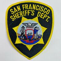 San Francisco Sheriff Police California CA Patch (C5)