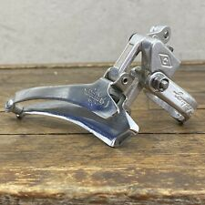 Vintage Campagnolo 28.6mm Front Derailleur Clamp-On Record 980 Bottom Pull T4
