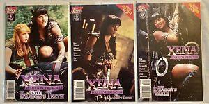 Xena Warrior Princess The Dragons Teeth(Topps Comics 1997)#1-3 NM Set Roy Thomas
