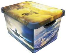 Boîte de conservation 20 Liter avec couvercle motif IMAGE plastique Design -