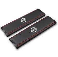 2Pcs Car Seat Belt Pads Shoulder Strap Cushion Covers For Nissan