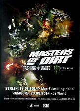 MASTERS OF DIRT - 2014 - Plakat - Motocross - Poster - HH - Berlin