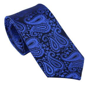 Coachella Ties Microfiber Solid Color Paisley Tie Woven Necktie Formal Tie 8.5CM