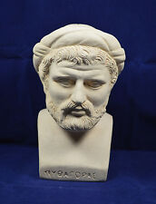 Pythagoras sculpture bust ancient Greek philosopher great mathematician statue