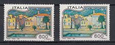ITALIA VARIETA'  1993 CARLOFORTE CON COLORE CASA NON VIOLA E COLORI TENUI FOTO