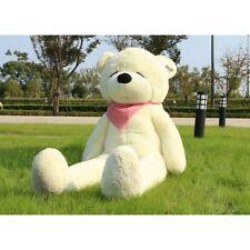 "Joyfay Giant Teddy Bear 71"" White XXL Large Stuffed Plush Toy Valentine's Gift"