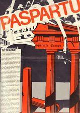 Paspartù-Sinistra extraparlamentare-Contestazione-Primi anni '80 ( rif. 21672 )