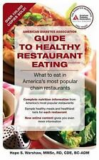 American Diabetes Association Guide to Healthy Restaurant Eating : What to...