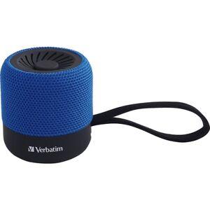 Verbatim Speaker System - Wireless Speaker[s] - Portable - Battery Rechargeable