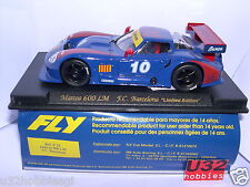 FLY E28 SLOT CAR MARCOS 600LM  #10  F.C.BARCELONA  LIMITED EDITION   MB