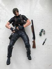"""Neca 7"""" Resident Evil 4 serie 1 Figura De Leon Kennedy Horror Acción no Chaqueta"""