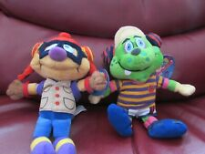 More details for 2 soft plush timekeepers of the millennium beanie toys coggsley/sprinx dome 2000