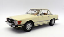 Sun Star 1/18 Scale Model Car 4667 - Mercedes Benz 350 SL - Ivory