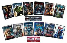 Marvel Cinematic Universe MCU Phases 1 & 2 Avengers Assembled Box / DVD Set(s)