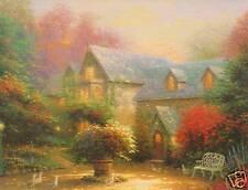"Thomas Kinkade  ""BLESSINGS OF SPRING""    Two (2) Postcards   ***NEW***"