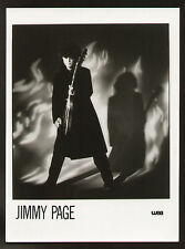 FOTO ORIGINALE PROMOZIONALE WEA JIMMY PAGE LED ZEPPELIN CARTA LUCIDA CM 18X24