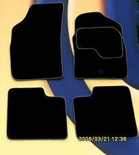 BMW 3  F30 / F31 2006 on BLACK + SILVER EDGE CAR MATS 316/8 320/8 330/5 + PADS B