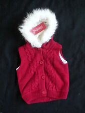 NWT GYMBOREE ALPINE SWEETIE SWEATER FUR VEST 12-24 XMS