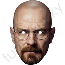 Bryan Cranston Celebrity Card Mask - Breaking Bad - All Our Masks Are Pre-Cut!