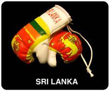 SRI LANKA Flag Mini Boxing Gloves For Car