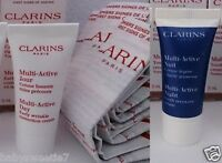 Clarins Multi Active Skin Day Correction 5ml Night Recovery Cream 5ml