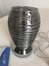 Silver Table Lamp Height 8inch
