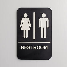Ada Unisex Restroom Sign W/Braille Free Shipping Us Only