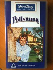 WALT DISNEY'S ~ POLLYANNA ~ HAYLEY MILLS ~ JANE WYMAN ~ AS NEW VHS VIDEO