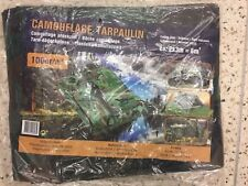 Bâche Camouflage 2x3m Bache Camouflage 6m2 100gr/m2 ARMEE MILITAIRE AIRSOFT
