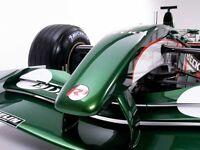 Peinture carrosserie: 0,5 L base à vernir Jaguar Mini British Racing Green 3 HFF