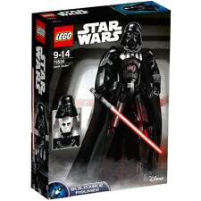 Lego Star Wars Buildable Figures: Darth Vader with Removable Mask 75534 NEW