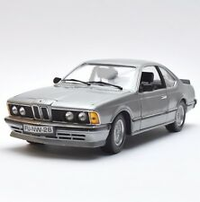 Anson Rarität BMW 635 CSI Sportcoupe in silbergrau lackiert, OVP, 1:18, K021