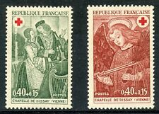 STAMP / TIMBRE FRANCE NEUF LUXE N° 1661/1662 ** CROIX ROUGE / ART