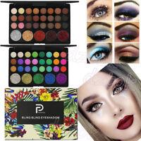 Shimmer Glitter Eye Shadow Powder Palette Matte Eyeshadow Cosmetic Makeup US