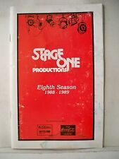 CHICAGO Playbill JENNIFER SIMARD Early Career MANCHESTER, NH 1988