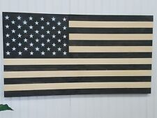 AMERICAN FLAG THEME WOODEN WALL MOUNT ART DECOR USA PATRIOTIC DECORATION MURAL