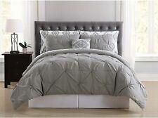 Truly Soft Everyday Bib1969Gyfpb-32 Pleated Bed in a Bag, Full, Pueblo Grey