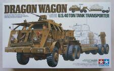 Tamiya 1/35 35230 DRAGON WAGON US 40 TON TANK TRANSPORTER (UK SALE ONLY)