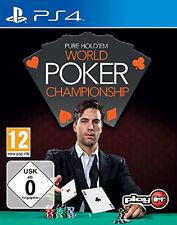 World Poker Championship Pure hold 'em usado ps4-juego #2000