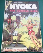 Fawcett - Nyoka The Jungle Girl, Zoo Funnies Presents #9 VG Jan 1955