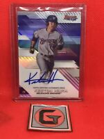 KESTON HIURA 2017 BOWMANS BEST ON CARD AUTO MILWAUKEE BREWERS AUTOGRAPH