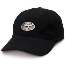 Toyota Badge Black Classic Brushed Cotton Hat