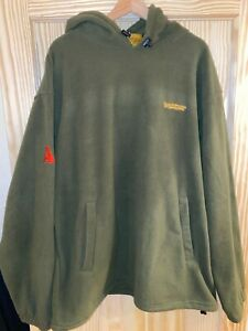 Trakker Armo Hooded Fleece Fishing Jacket - M (Very generous size) Old School