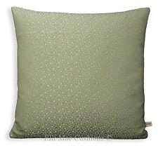 Nina Campbell Kirkham Designer Fabric Duck Egg Spot Cushion Pillow Cove